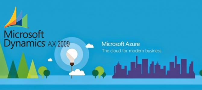 Dynamics AX 2009 en Azure