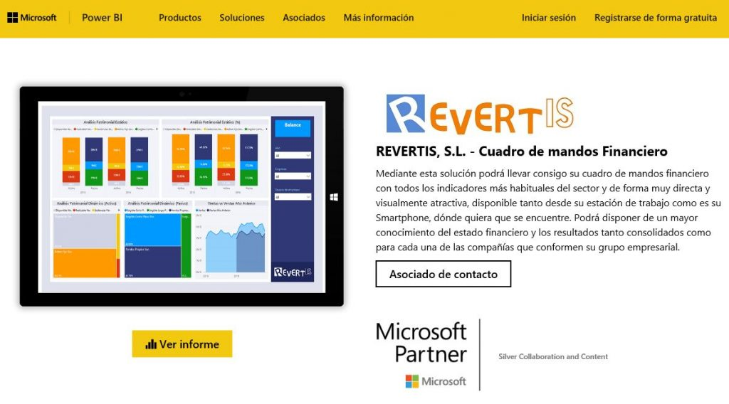 Revertis Power BI