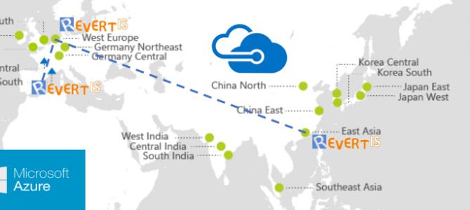 Revertis implementa su primera MV de Azure en Asia